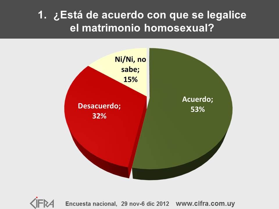 Reflexion sobre matrimonio homosexual